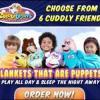 Cuddle Uppets Hot New Blanket Puppet for Kids offer Kids Stuff