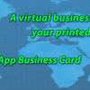 Attention All Affiliate Marketers! Brand New Mobile App Virtual Business Card  Affiliate Program Just Launched. Picture