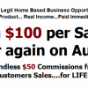 Yeah! ... a business where you don't have to set up ANYTHING offer Leads